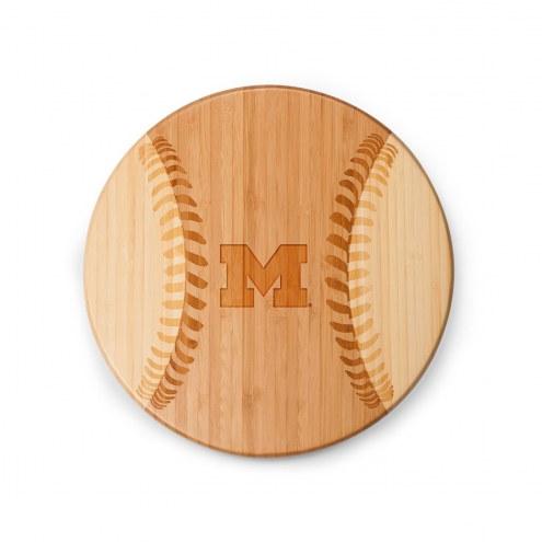 Michigan Wolverines Homerun Cutting Board