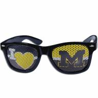 Michigan Wolverines I Heart Game Day Shades