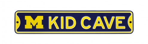 Michigan Wolverines Kid Cave Street Sign