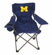 Michigan Wolverines Kids Tailgating Chair
