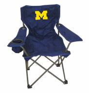 Michigan Wolverines Kids Tailgating Chair