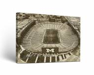 Michigan Wolverines Landscape Canvas Wall Art