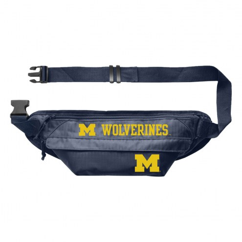 Michigan Wolverines Large Fanny Pack