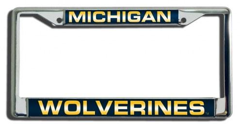 Michigan Wolverines Laser Cut License Plate Frame