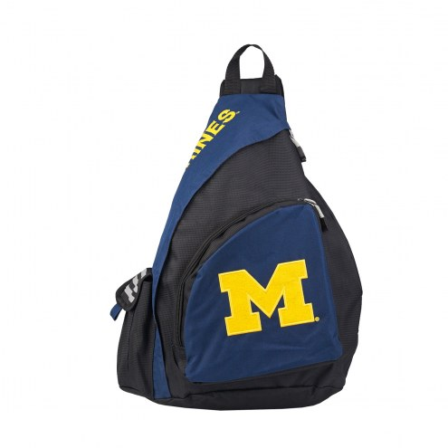 Michigan Wolverines Leadoff Sling Backpack