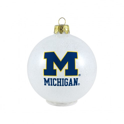 Michigan Wolverines LED Color Changing Ball Ornament