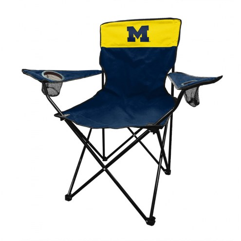 Michigan Wolverines Legacy Tailgate Chair