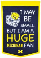 Michigan Wolverines Lil Fan Traditions Banner