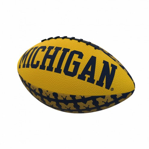 Michigan Wolverines Mini Rubber Football