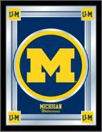 Michigan Wolverines Logo Mirror