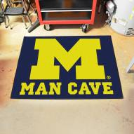 Michigan Wolverines Man Cave All-Star Rug