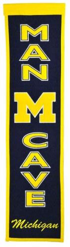 Michigan Wolverines Man Cave Banner