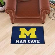 Michigan Wolverines Man Cave Starter Mat