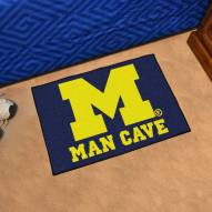 Michigan Wolverines Man Cave Starter Mat