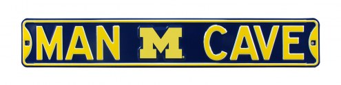 Michigan Wolverines Man Cave Street Sign