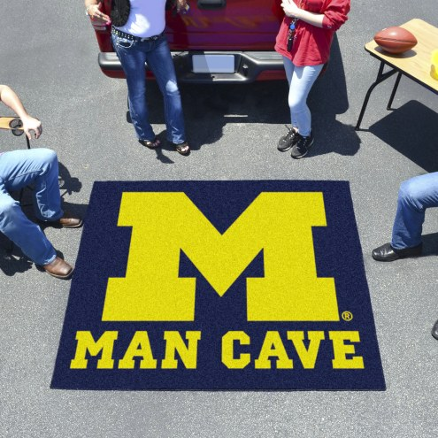 Michigan Wolverines Man Cave Tailgate Mat