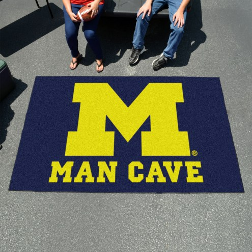 Michigan Wolverines Man Cave Ulti-Mat Rug
