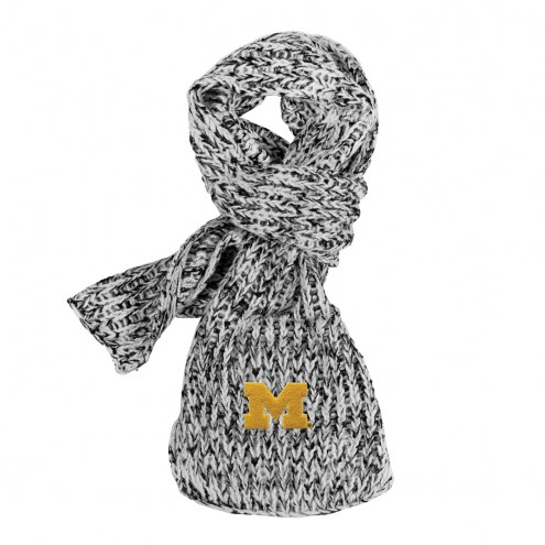 Michigan Wolverines Marled Scarf