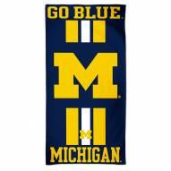 Michigan Wolverines McArthur Beach Towel