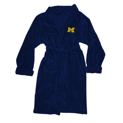 Michigan Wolverines Men's Bathrobe