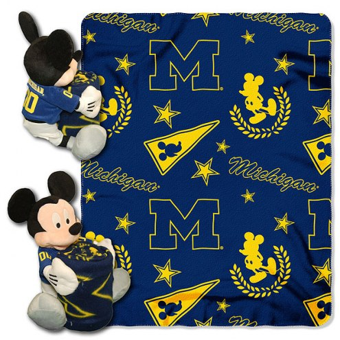 Michigan Wolverines Mickey Mouse Hugger