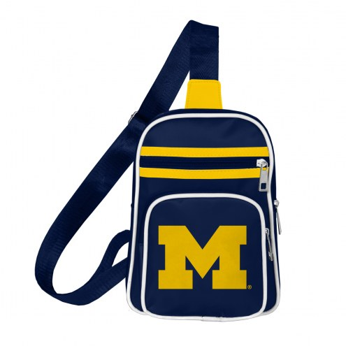 Michigan Wolverines Mini Cross Sling Bag