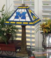 Michigan Wolverines Mission Table Lamp