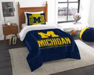 Michigan Wolverines Modern Take Twin Comforter Set
