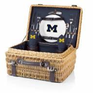 Michigan Wolverines Navy Champion Picnic Basket