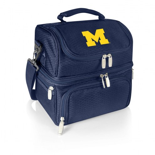Michigan Wolverines Navy Pranzo Insulated Lunch Box