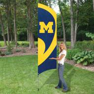 Michigan Wolverines NCAA Tall Team Flag