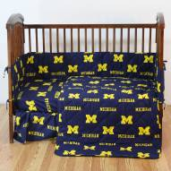 Michigan Wolverines Baby Crib Set