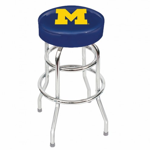 Michigan Wolverines NCAA Bar Stool
