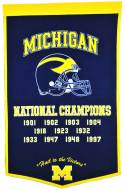 Winning Streak Michigan Wolverines NCAA Football Dynasty Banner