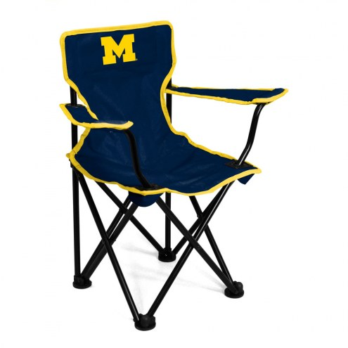 Michigan Wolverines NCAA Toddler Folding Chair