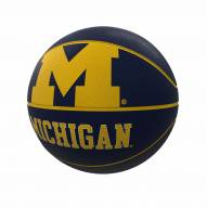 Michigan Wolverines Official Size Rubber Basketball