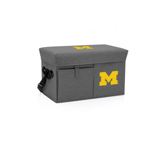 Michigan Wolverines Ottoman Cooler & Seat