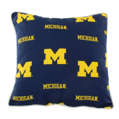 Michigan Wolverines Outdoor Decorative Pillow