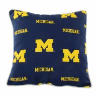Michigan Wolverines Outdoor Decorative Pillow