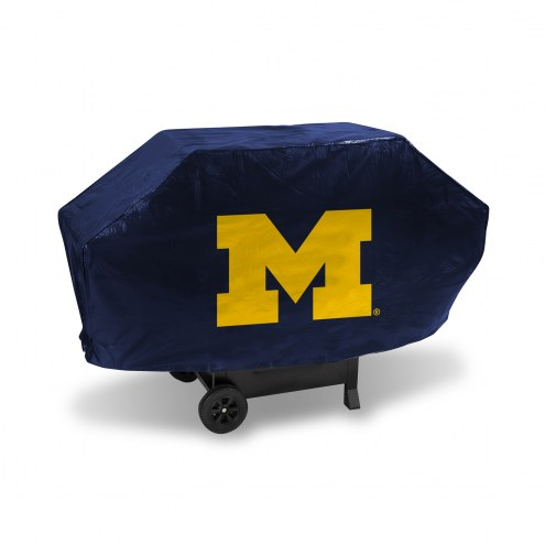 Michigan Wolverines Padded Grill Cover