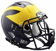 Michigan Wolverines Riddell Speed Full Size Authentic Football Helmet