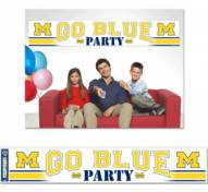 Michigan Wolverines Party Banner