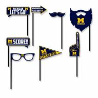Michigan Wolverines Party Props Selfie Kit