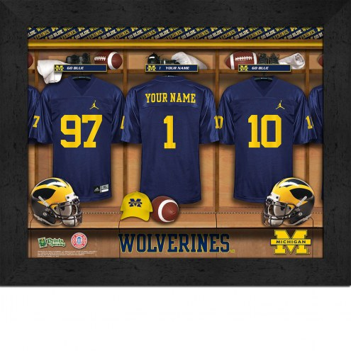 Michigan Wolverines Personalized 11 x 14 Framed Photograph