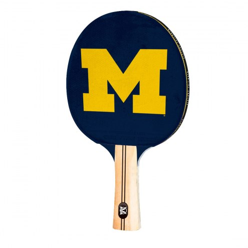 Michigan Wolverines Ping Pong Paddle