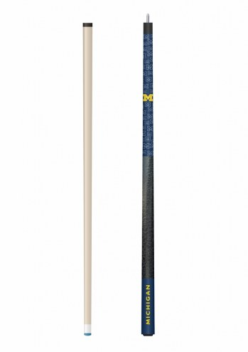 Michigan Wolverines Pool Cue & Case Set
