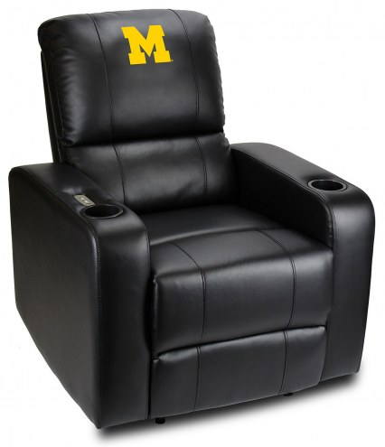 Michigan Wolverines Power Theater Recliner