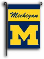 Michigan Wolverines Premium 2-Sided Garden Flag