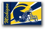 Michigan Wolverines Premium Helmet 3' x 5' Flag