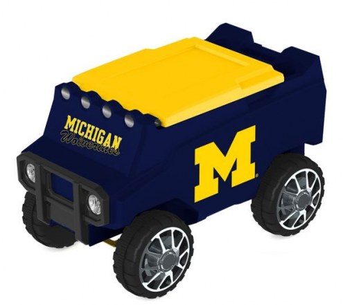 Michigan Wolverines Remote Control Rover Cooler